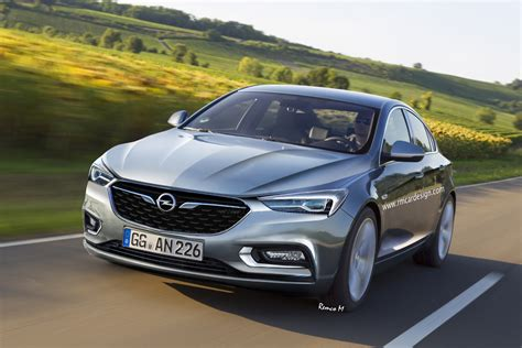 Opel Buick by 2017 Opel Insignia B Rendered Based On Buick Design