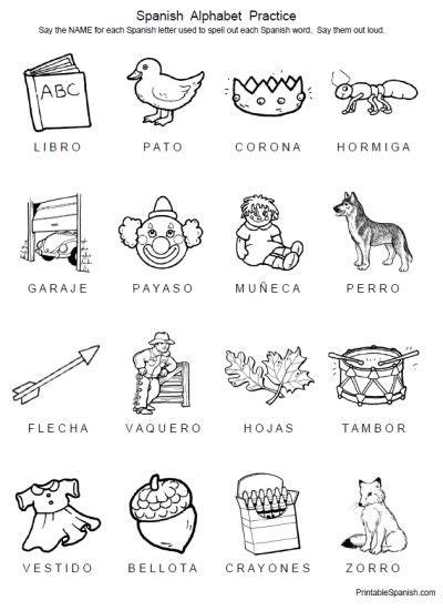 spanish  images spanish alphabet spanish alphabet