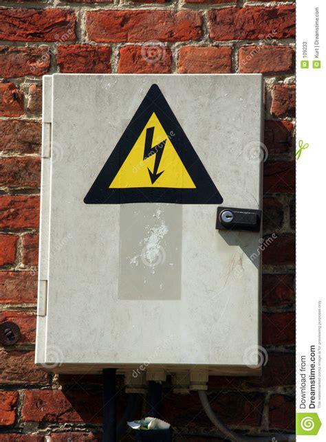 fuse box stock image image  sticker electrical