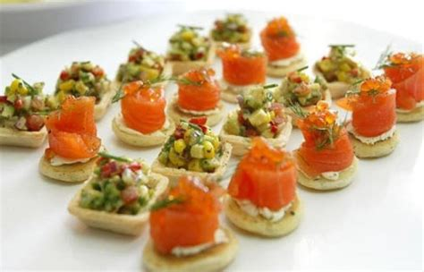 canape saumon photos canapé au saumon