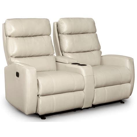 Slimline Recliners by Best Home Furnishings Hillarie Power Rocking Reclining