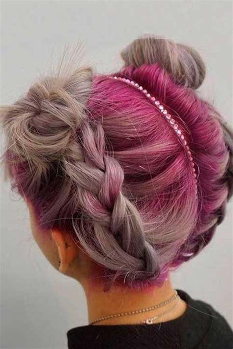 different braided short hairstyles ideas short