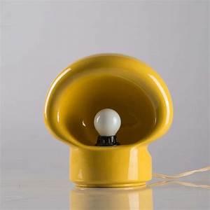 Fratelli Martini Lighting Italian Ceramic Table Lamp By Enzo Bioli For Il Picchio