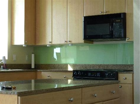 diy solid glass kitchen backsplashes  install
