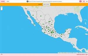 Mapa para jugar ¿Dónde está? Capitales de México Mapas Interactivos de Didactalia