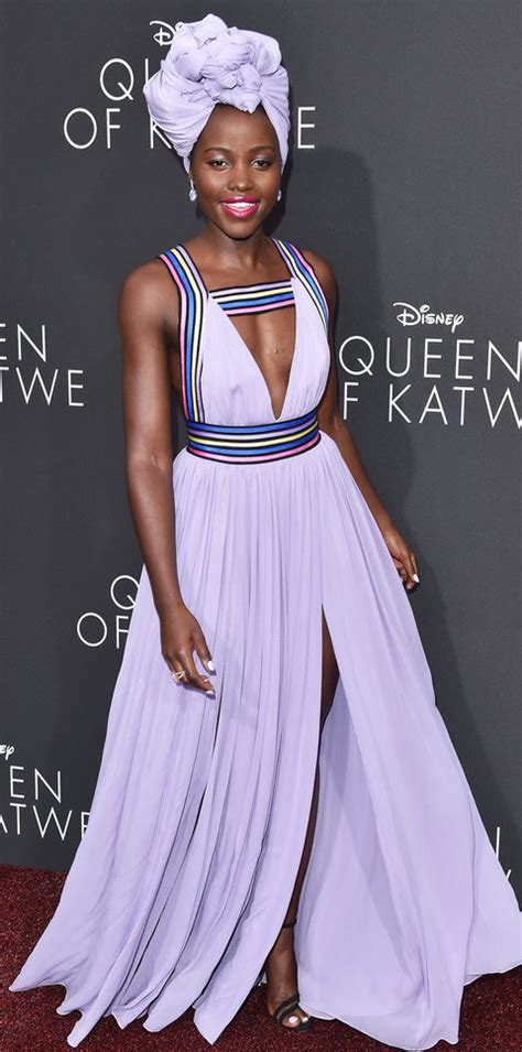 Lupita Nyong'o's Red Carpet Style   InStyle.com