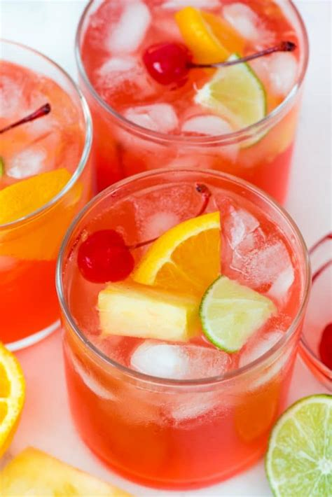 Fruity Vodka Party Punch  Crazy For Crust