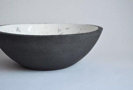 black concrete bowl large  fox ramona concrete