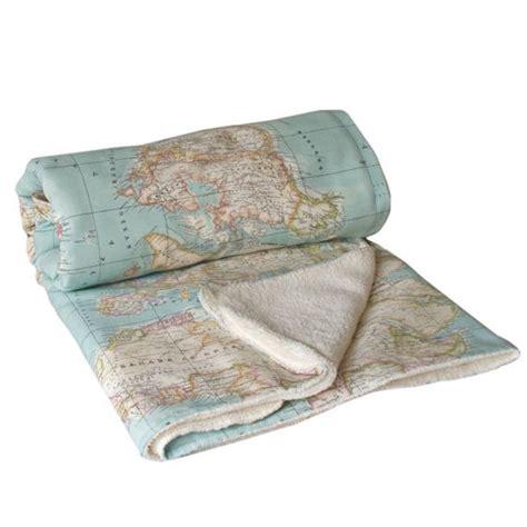 couverture de canap carte de couverture couverture bleue carte en tissu lit