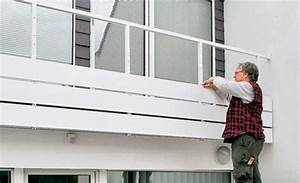 Bretter Für Balkongeländer : balkon selber sanieren treppen fenster balkone ~ Markanthonyermac.com Haus und Dekorationen
