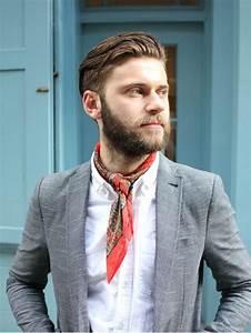 Comment Mettre Une Cravate : comment nouer mettre porter son foulard en cravate ~ Nature-et-papiers.com Idées de Décoration