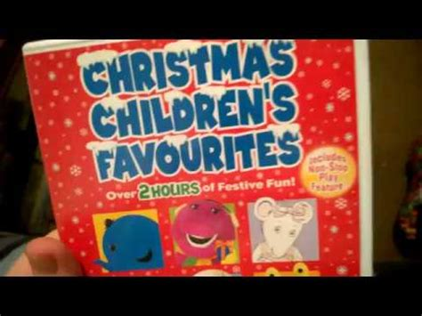 Christmas Ren Favourites Dvd Review Youtube