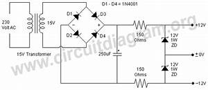 simple 12v dual power supply using zener diodes circuit With led light simple circuit diagram fully stocked led lighting store