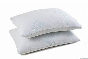Top 10 best bamboo memory foam pillows in 2018 reviews for Comfort inn pillows