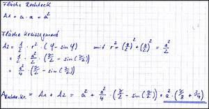 Kreissegment Fläche Berechnen : mp forum fensterfl che ermitteln rechteck kreis und ellipsensegment matroids matheplanet ~ Themetempest.com Abrechnung