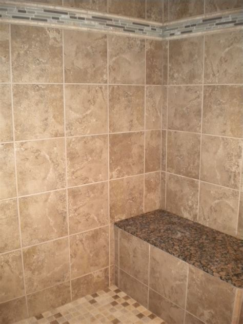 bathroom bench ideas tile and granite on the shower bench bathroom ideas