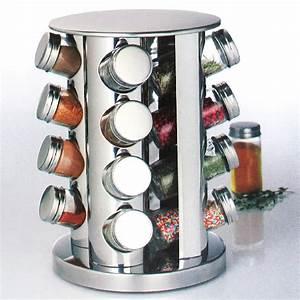 Boite à épices : pr sentoir tourniquet et ses 16 pots pices maison fut e ~ Teatrodelosmanantiales.com Idées de Décoration