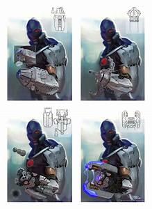 Cyborg Weapons | Video Games Artwork