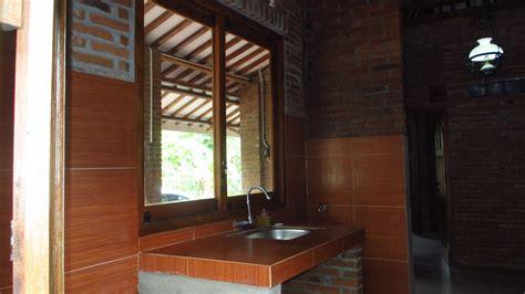 desain ruang tamu rumah limasan wallpaper dinding