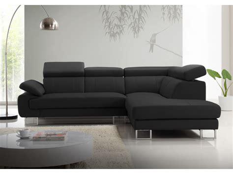 canape m canapé d 39 angle en cuir de vachette 5 coloris colisee