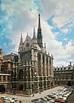 Sainte Chapelle Exterior, Paris, France. Rayonnant Gothic ...