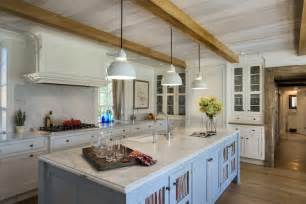 antique copper kitchen faucet exposed wood beams country kitchen crisp architects