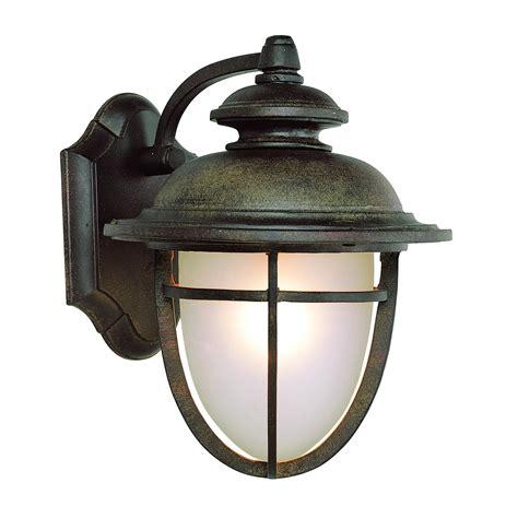 Transglobe Lighting Outdoor 1 Light Wall Lantern In Dark