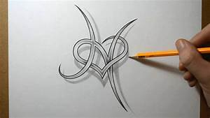Gallery Heart Tattoo Designs With Letters