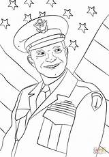 Coloring Dwight Eisenhower General Roosevelt Presidents Drawing Teddy Theodore Soldiers Andrew Jackson Printable Cartoon Supercoloring Getcolorings London Getdrawings Ultimate Categories sketch template
