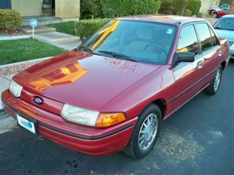 Find Used 1992 Ford Escort Lxe Sedan 4door 18l In Las