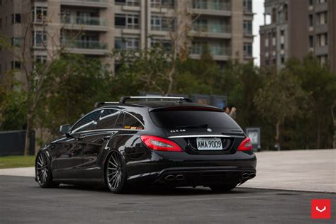 mercedes benz cls  amg shooting brake hybrid forged