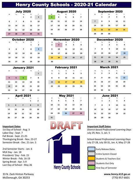 future school calendars review news henryheraldcom