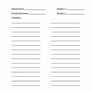 sample seminar sign in sheet 11 documents in word pdf With seminar sign up sheet template