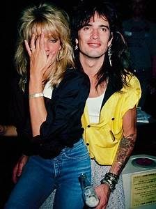 Heather Locklear and Tommy Lee, pure 80s | STYLE: Shoulder ...