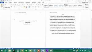 blank apa format template - formatting apa style in microsoft word 2013 9 steps