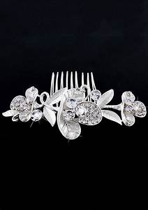 Chic Bride Hair Comb Prom Fancy Hair Clip Wedding