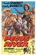 Pecos River (1951) - Charles Starrett DVD | Film posters ...