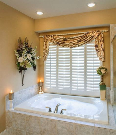 window ideas for bathrooms curtain ideas bathroom window curtains with attached valance
