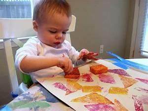 Malen Mit Kleinkindern Ideen : basteln mit kindern unter 3 jahren reative ideen zu ~ Watch28wear.com Haus und Dekorationen