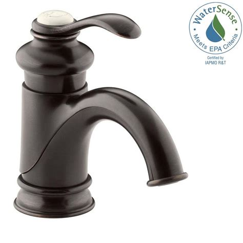 kohler kitchen sink faucets kohler fairfax single single handle mid arc bathroom 6691