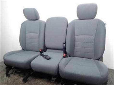 replacement dodge ram oem front seats