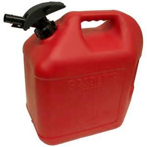 5 Gallon Plastic Gas Can