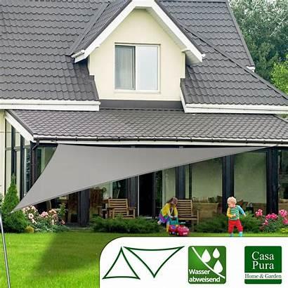Dreieck Sonnensegel Wasserabweisend Terrasse Pura Testnote Casa
