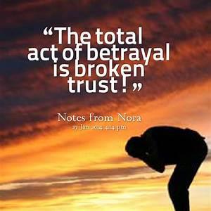 Broken Trust Quotes. QuotesGram