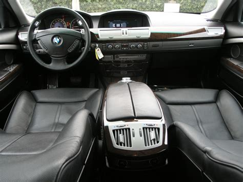 Bmw 750i Interior by 2008 Bmw 7 Series Interior Pictures Cargurus