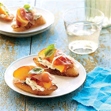 summer canapes summer appetizer ideas myrecipes