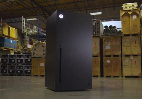 microsoft  giving   custom full size xbox series  fridge   lucky twitter user