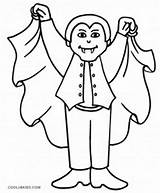 Vampire Coloring Pages Cute Dracula Vampires Halloween Printable Drawing Cool2bkids Scary Colouring Diaries Sheets Teeth Print Cartoon Anime Face Boys sketch template