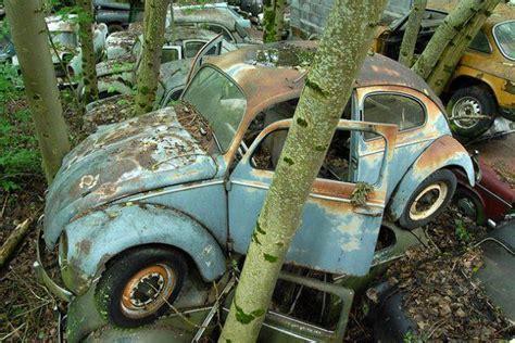 Switzerland's Kaufdorf Vehicle Graveyard
