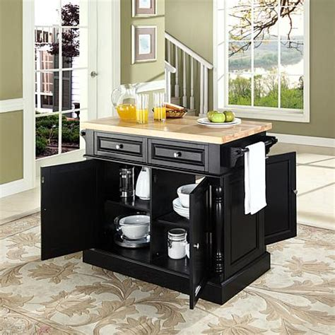 kitchen island with chopping block top butcher block top kitchen island 10069256 hsn 9428